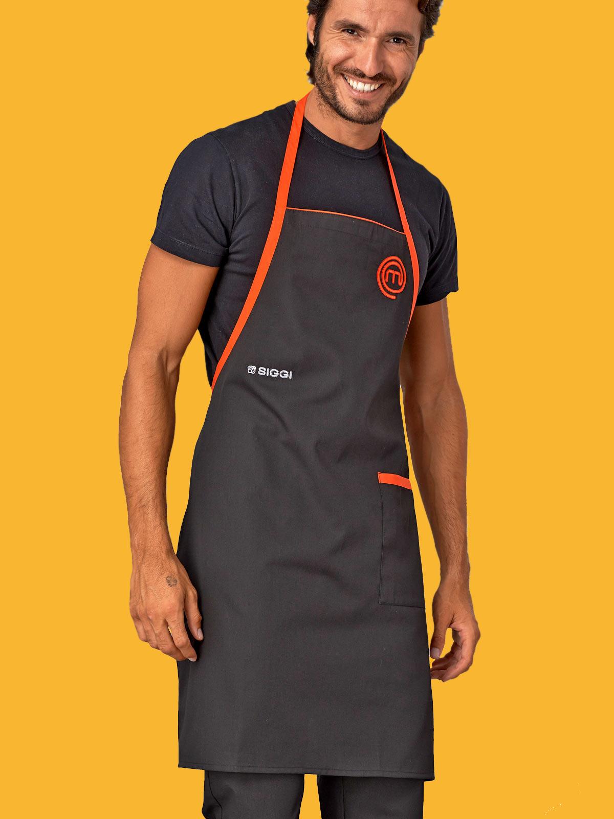 Grembiule cuoco masterchef siggi personalizzabili da - Libretto sanitario per lavoro cucina ...