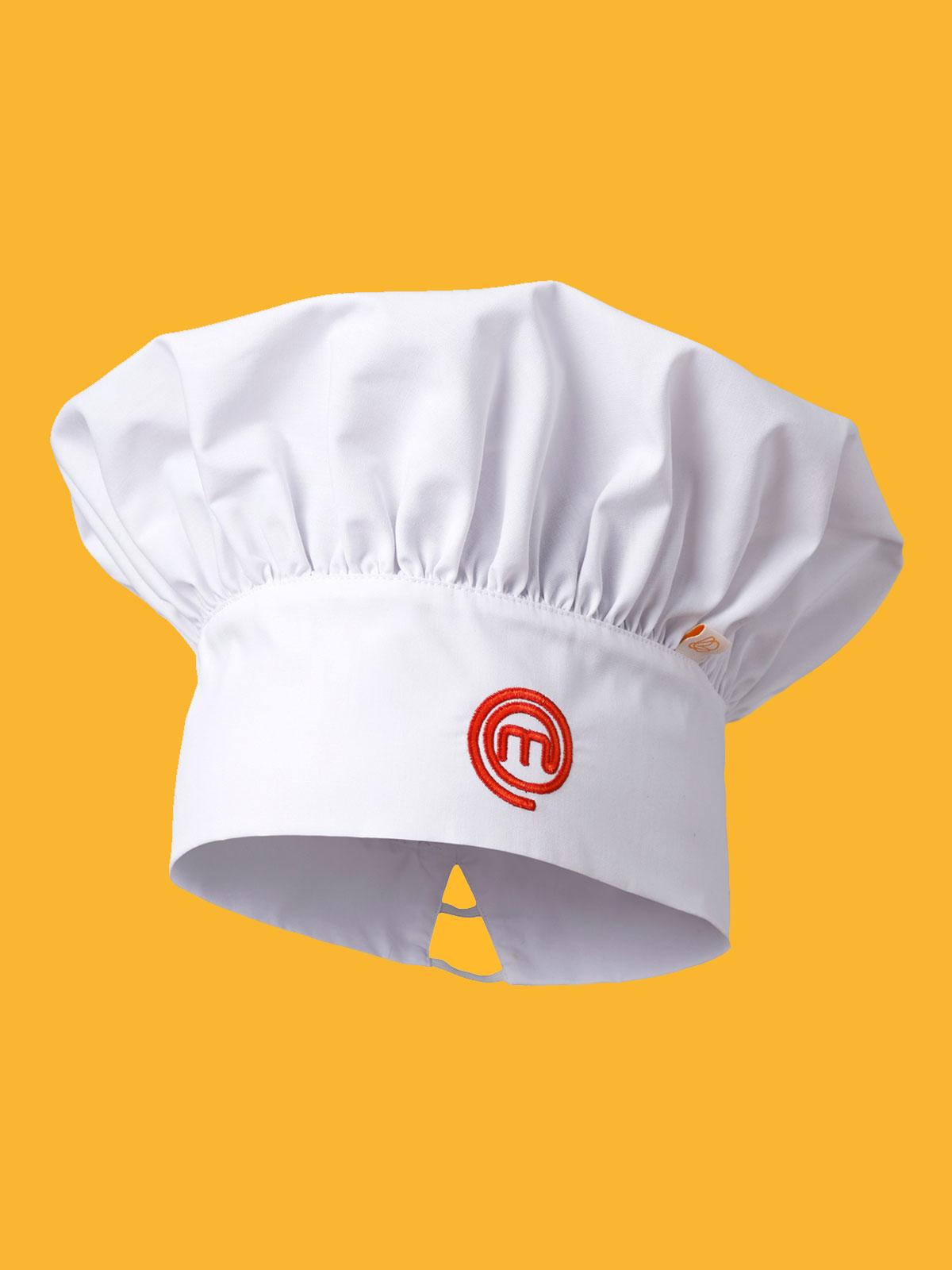 Cappello Cuoco Originale MasterChef Berretto Bianco