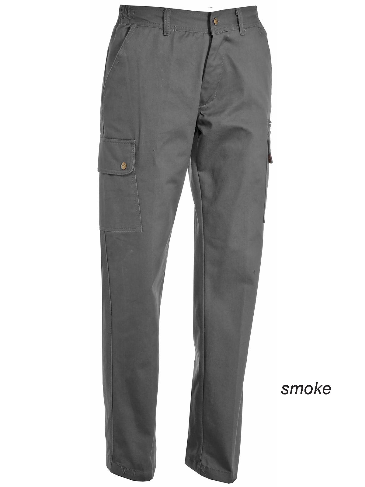 Pantaloni da Lavoro Donna Cargo Cotone Multi Tasche Classico Payper Forest Lady CHEMAGLIETTE