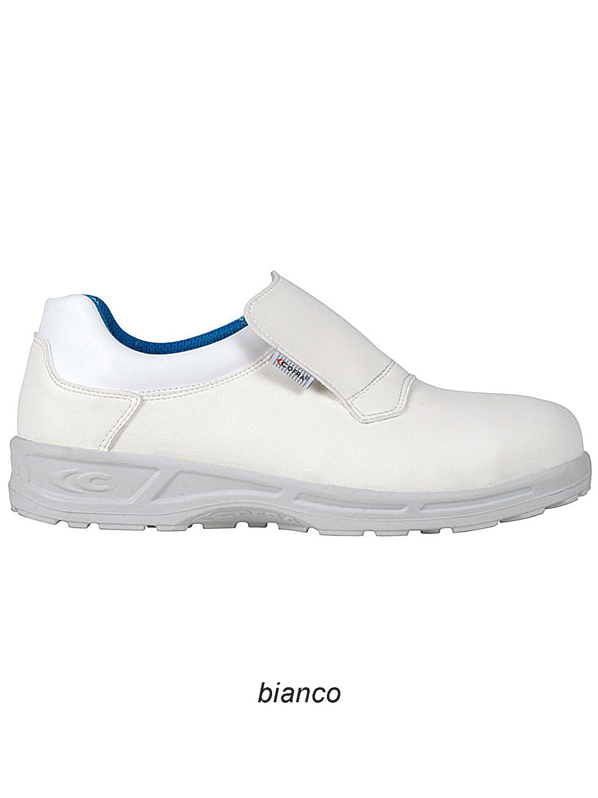 Scarpa bassa S2 SRC Cadmo White Cofra personalizzabili 5ee83246581