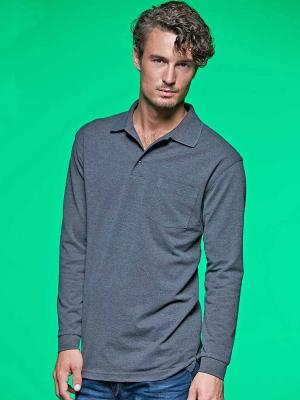 Polo m/l Piqué Long-Sleeved JN029 James&Nicholson