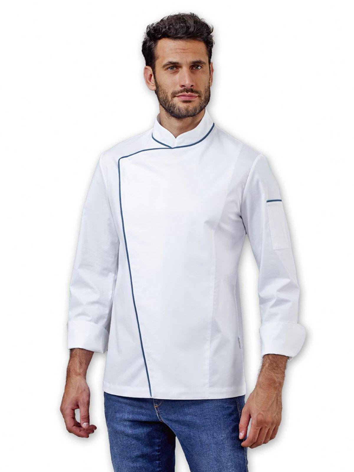 Giacca da cuoco Alan Siggi personalizzabili 8da2991365b0