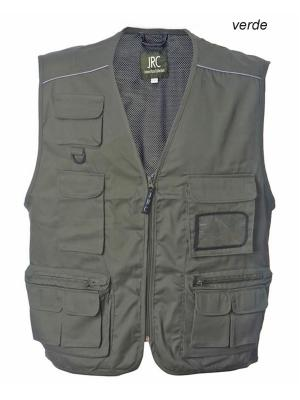 Gilet multitasche New Safari JRC