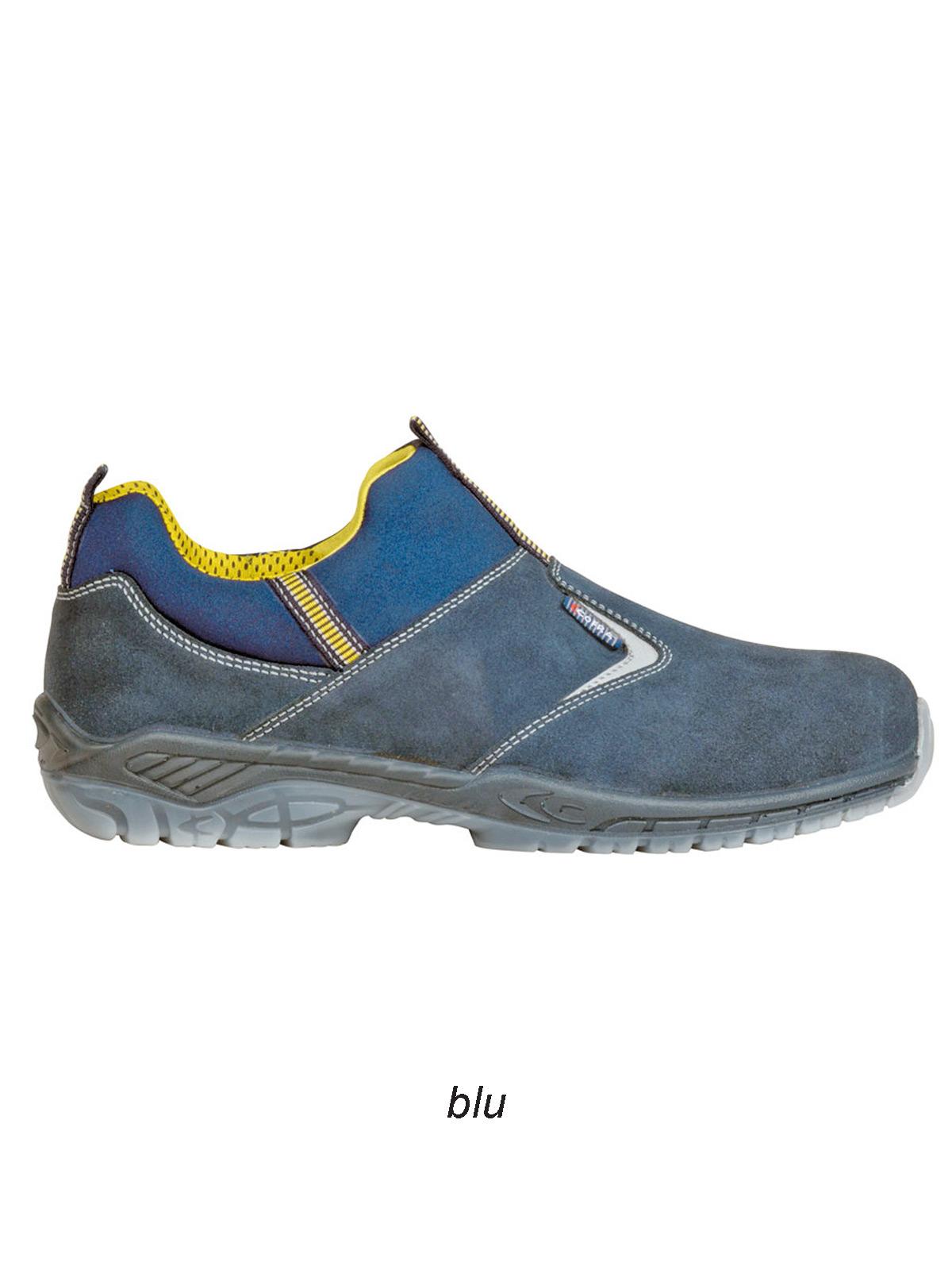 Scarpa bassa S3 SRC Game Blue Cofra personalizzabili, da