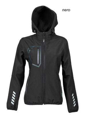 Giubbotto donna in softshell Garmisch Lady JRC