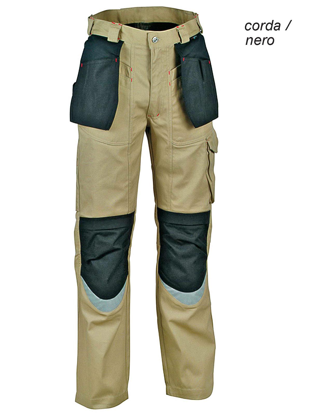 Gilet invernale Cofra POLAR colore: blu navy//nero da lavoro
