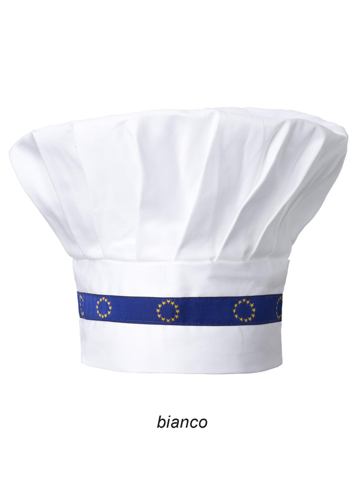 Cappello da cuoco Europa Angiolina personalizzabili b90221ad8f12