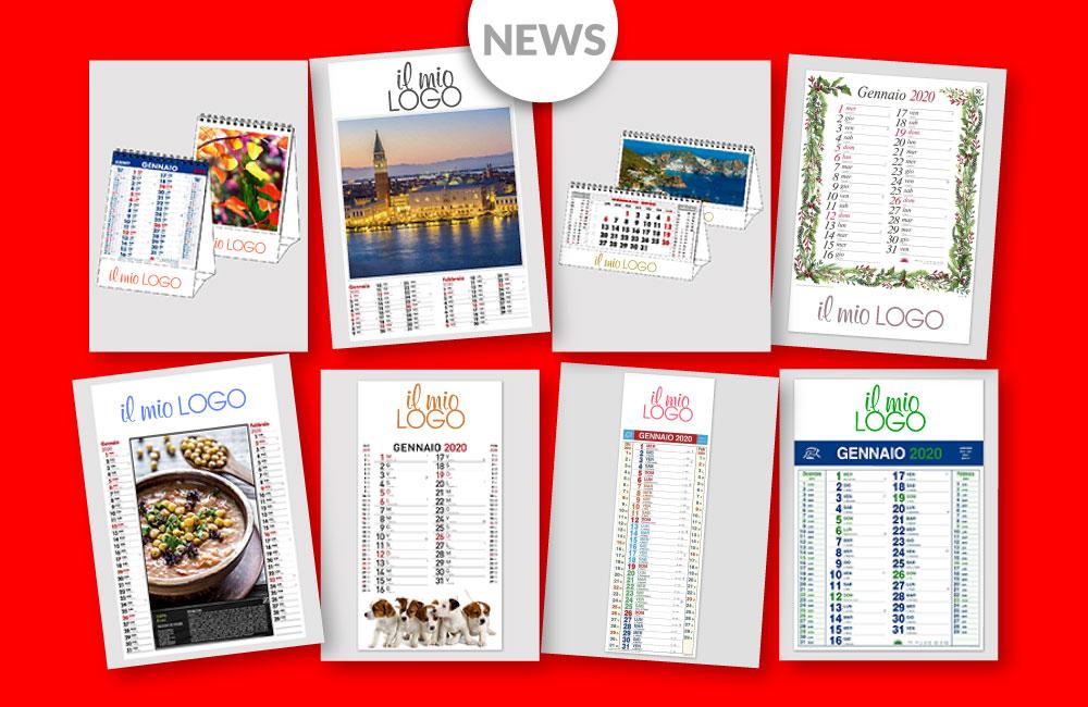 Calendario Personalizzato Con Foto 2020.Promozione Calendari Personalizzati 2020